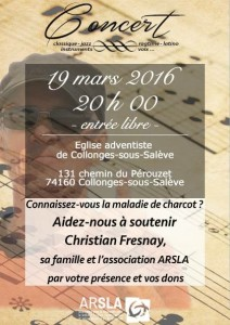 affiche concert Collonges